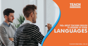 Teaching English to Speakers of Other Languages